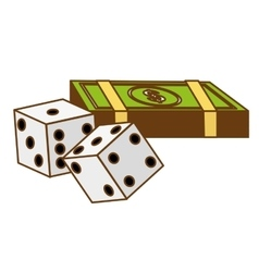 Casino related icon image vector