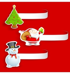 Christmas Tag vector image