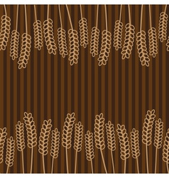 Grain brown pattern eps10 vector