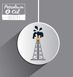 Petroleum and Oil concept vector image