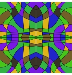 abstract colored stained glass - background mosaic vector image