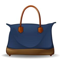 Blue bag vector image