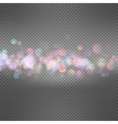 Glitter vintage lights background eps 10 vector