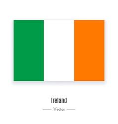 Ireland flag icon vector