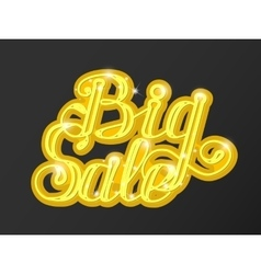 Big sale in supermarket concept of e-shopping vector