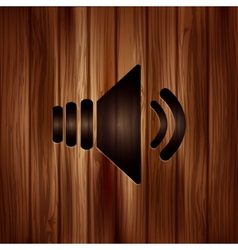 Speaker icon volume symbol vector
