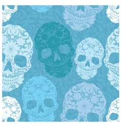 Skull Pattern Classic vector image