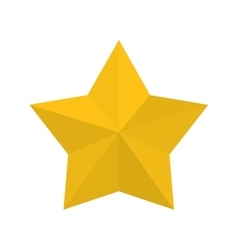 Decoration star icon merry christmas design vector