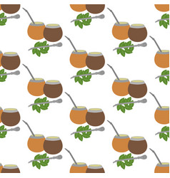 Calabash mate pattern vector