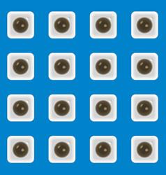 coffee seamless design vector image vector image