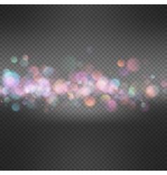Festive defocused lights eps 10 vector
