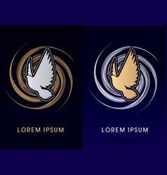 pigeon spirit vector image