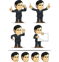 Businessman or company executive customizable 2 vector