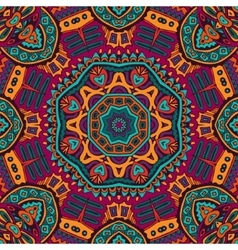 Abstract festive colorful seamless patten vector