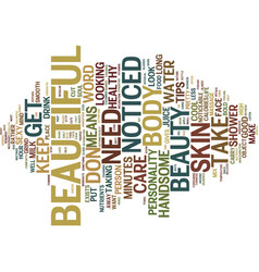 Beauty trade shows text background word cloud vector