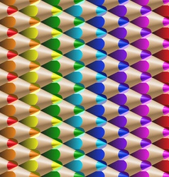 color pencil pattern vector image