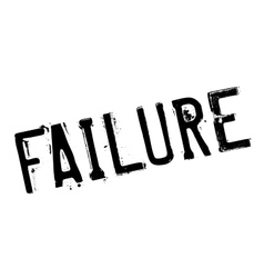 Failure stamp rubber grunge vector