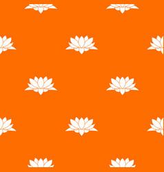 Lotus flower pattern seamless vector