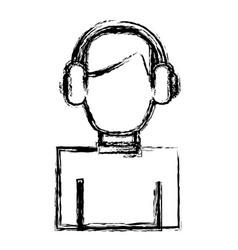 man avatar icon vector image
