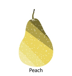 Pear icon vector