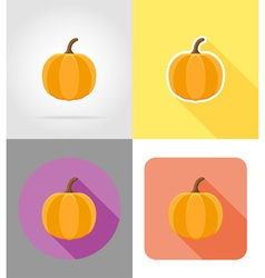 halloween flat icons 02 vector image vector image