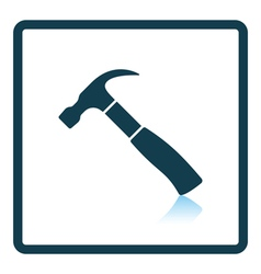 Icon of hammer vector