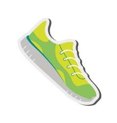 running shoes icon vector image vector image
