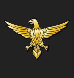 Golden eagle - emblem vector