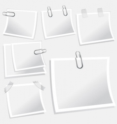 notepaper illustration vector image