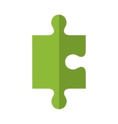 Puzzle piece icon game design graphic vector