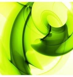 Abstract green vector