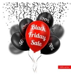 Black Friday A bunch of vector image vector image