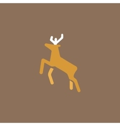 Deer icon vector image
