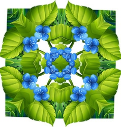 Flora pattern vector image