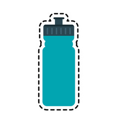 Sports bottle icon imag vector
