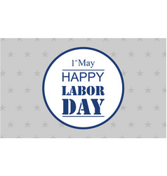 Style background labor day collection vector