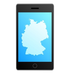 Smartphone Germany vector image