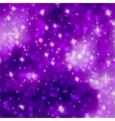 Glittery purple Christmas background EPS 8 vector image