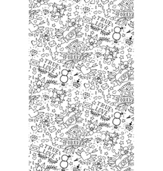 Hand drawn valentines day tattoo pattern vector