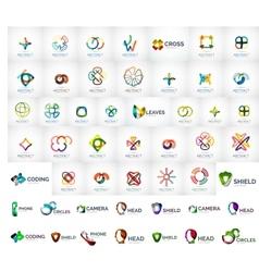Logo mega collection vector
