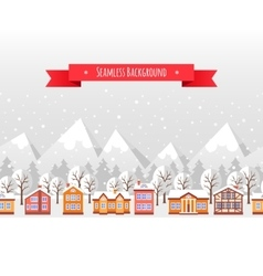 Christmas seamless backgound vector