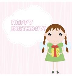 congratulation happy birthday vector image vector image