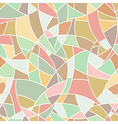 Seamless pattern - abstract mosaic simple texture vector