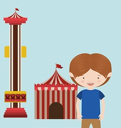 Childrens entertainment vector