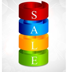sale background vector image