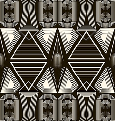 Seamless antique pattern ornament Geometric vector image