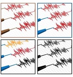 Seismograph vector