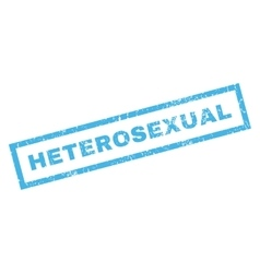 Heterosexual rubber stamp vector