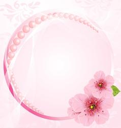 Wedding arrangement vector image