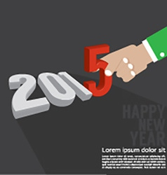 2015 greeting card design vector